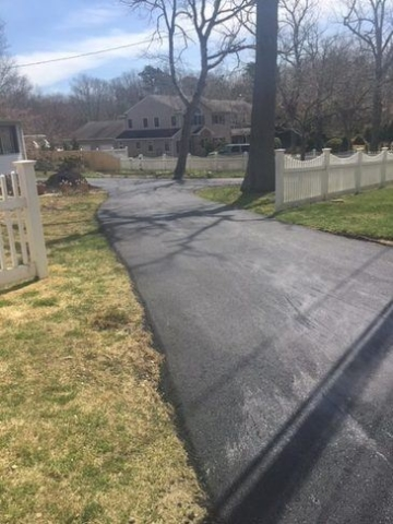 Paving New Driveway in Long Island - 3