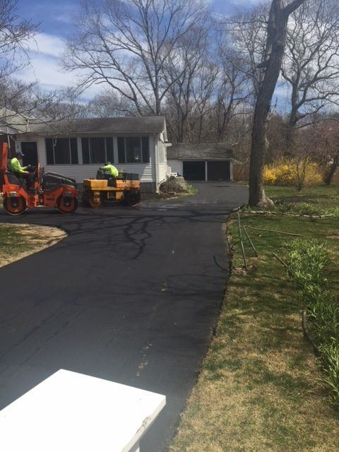 Paving New Driveway in Long Island